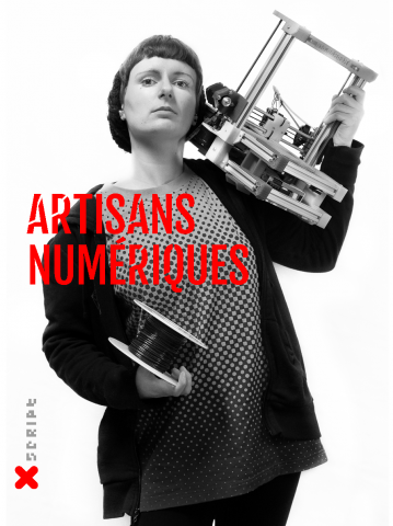 """Couverture """"Artisans numériques"""", HYX"""