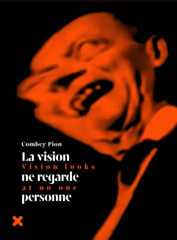 "Book cover ""Vision looks at no one"" - Combey Pion, HYX"