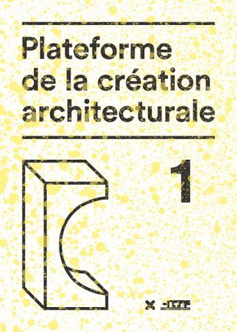 plateforme de la création architecturale-Éditions HYX